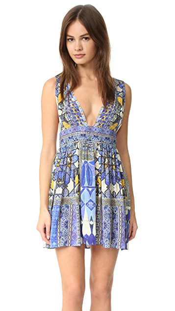 Camilla Rhythm & Blues V Neck Dress