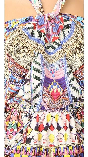 Camilla Tie Front & Sides Romper