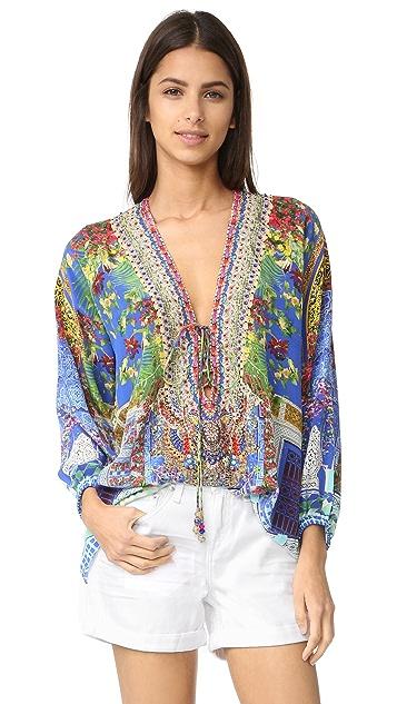 Camilla Lace Up Shirt