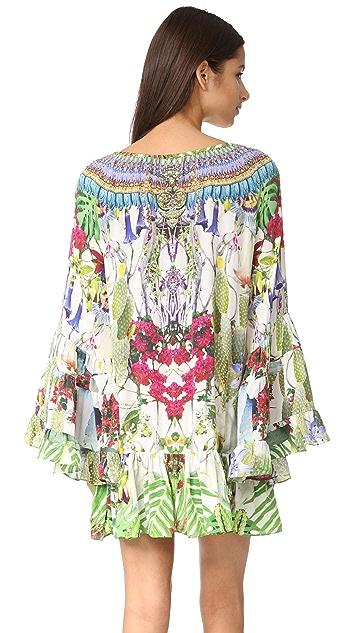 Camilla A-Line Frill Dress