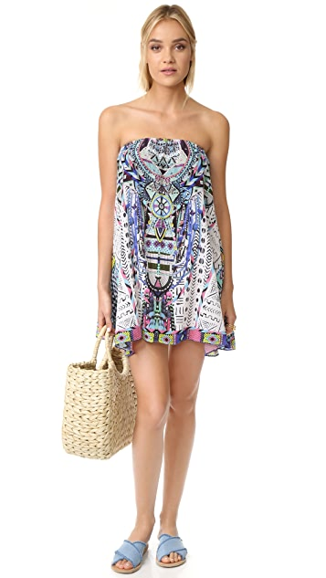 Camilla Strapless Mini Dress