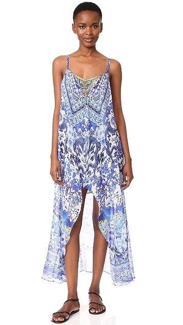 Camilla Guardian of Secrets Mini Dress with Long Overlay