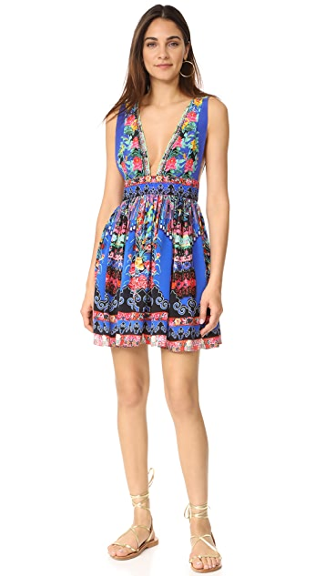 Camilla Pretty Procession V Neck Dress