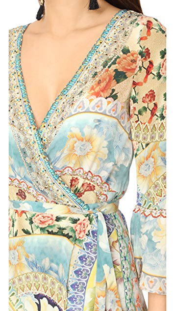 Camilla Sign of Peace Wrap Dress