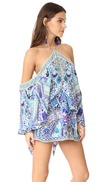 Camilla The Blue Market Romper