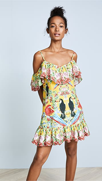 Camilla Love Birds Frill Dress