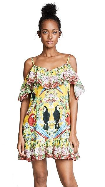 Camilla Love Birds Frill Dress