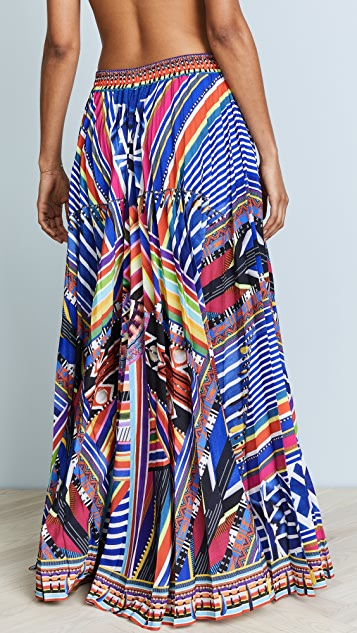 Camilla Tsachila Blessing Pleated Skirt