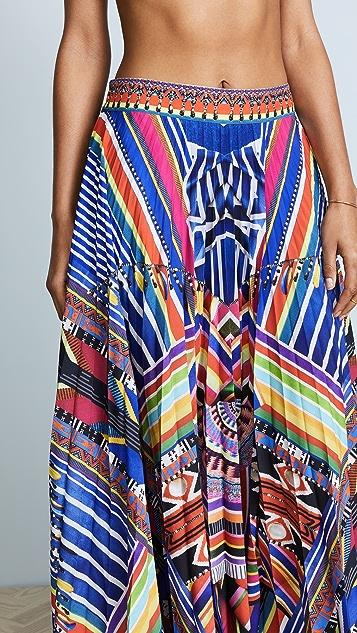 Camilla Tsachila Blessing Pleated Skirt