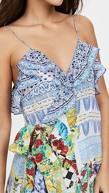 Camilla Masking Madness Frill Dress