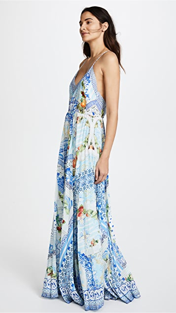 Camilla A Night To Remember Pleated Slip Dress