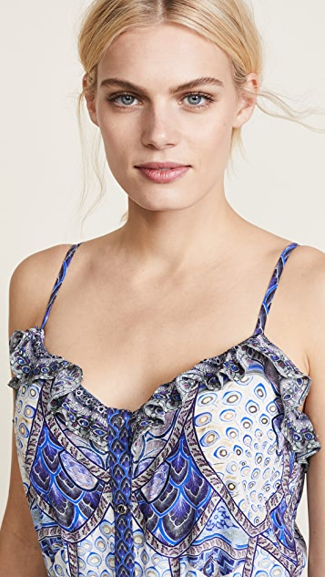 Camilla Wings to Fly High Low Dress