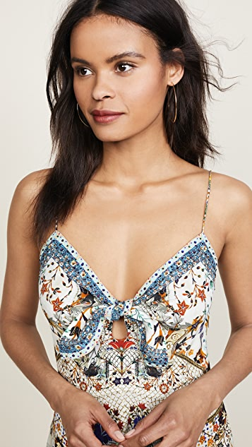 Camilla The Butterfly Effect Tie Front Dress