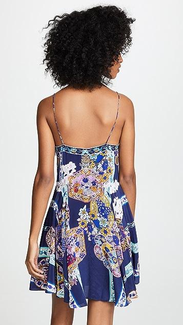 Camilla Короткое платье с завязками спереди