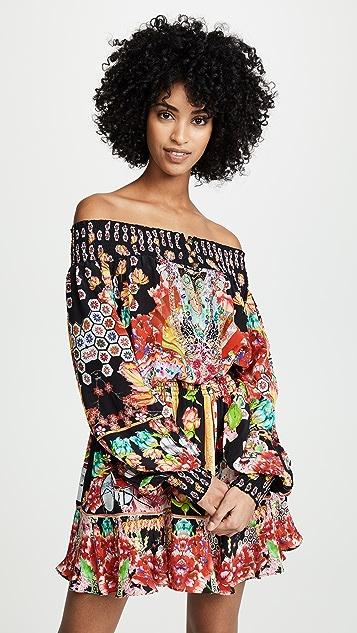 Camilla Off Shoulder Short Dress