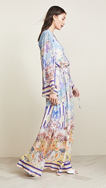 Camilla Drawstring Button Up Dress