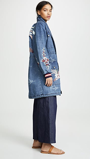 Camilla Denim Parka
