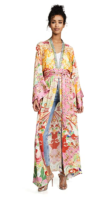 Camilla Robe with Elastic Waist
