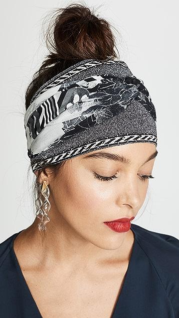 Camilla Silk Scarf Headband
