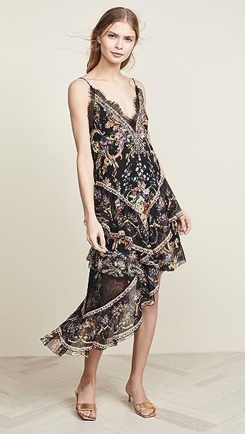 Camilla Layered Asymmetrical Dress