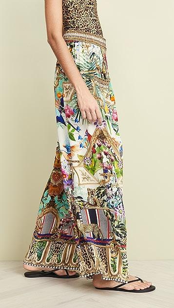 Camilla Широкие брюки с присборенными карманами