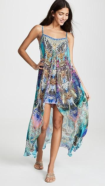Camilla Мини-платье с длинным накладным элементом