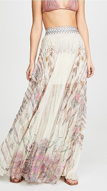 Pleated Hem Skirt by Camilla