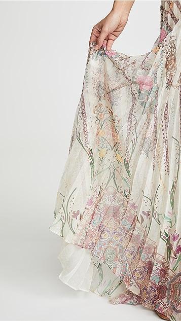Camilla Юбка со складками снизу