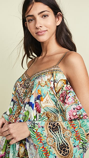 Camilla Drop Shoulder Romper