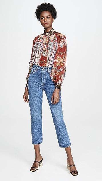 Camilla Рубашка на пуговицах с рукавами реглан