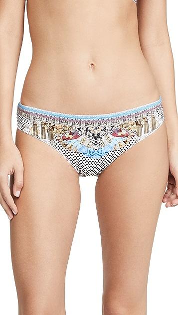 Camilla Montmartre Heart Bikini Bottoms