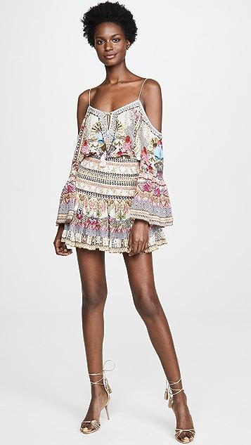 Camilla Montmartre 心形抽褶半身短裙