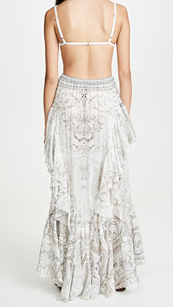 Camilla Crystal Castle Maxi Skirt