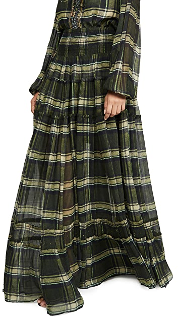 Camilla 4 Tiered Gathered Skirt