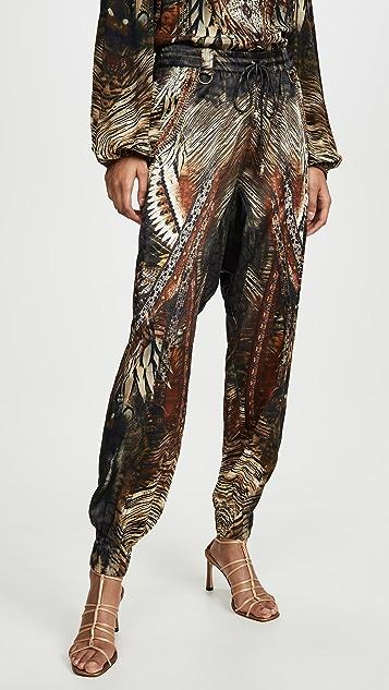 Camilla Drop Crotch Track Pants