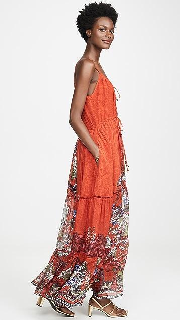 Camilla Front Tie Detail Dress