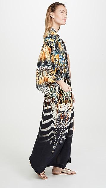 Camilla 和服式外套