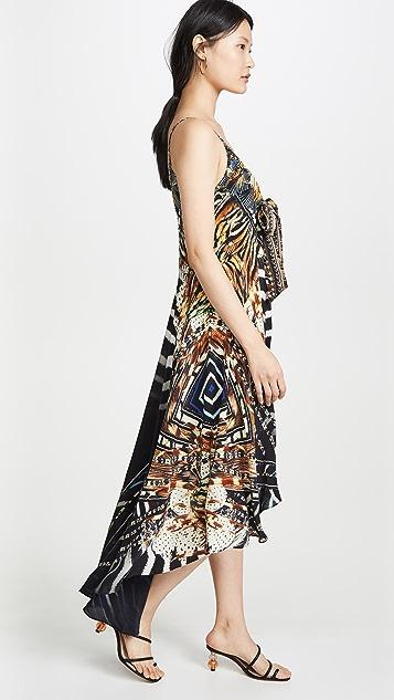 Camilla Асимметричное платье с завязками