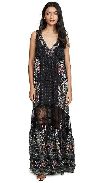 Camilla Spliced Maxi Dress