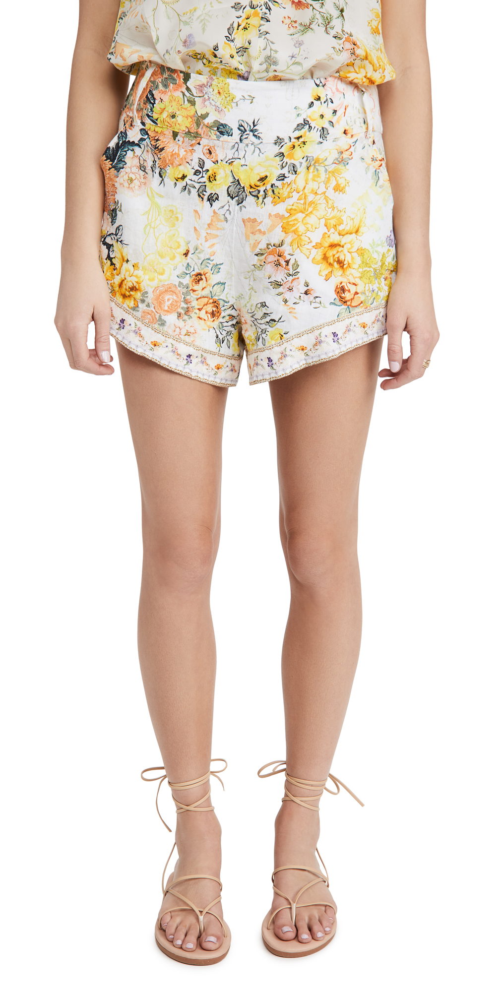 Camilla Tie Detail High Cut Shorts