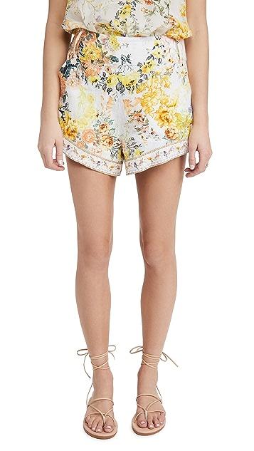 Camilla Tie Detail High Cut Shorts