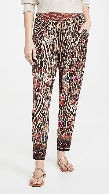 Camilla Harem Pants with Front Pleats