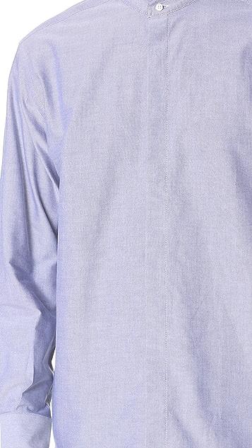 CAMO Babieca Band Collar Oxford Shirt