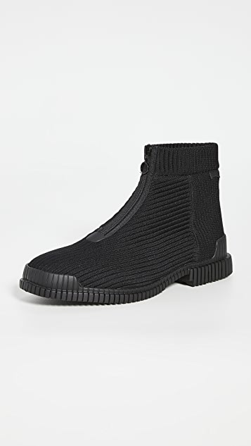 Camper Zip Mid Boots