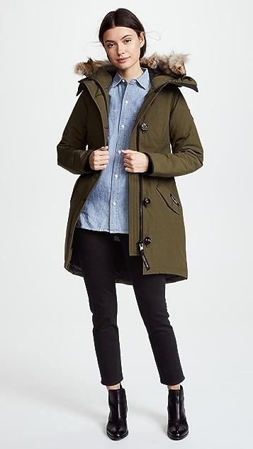 canada goose rossclair coat