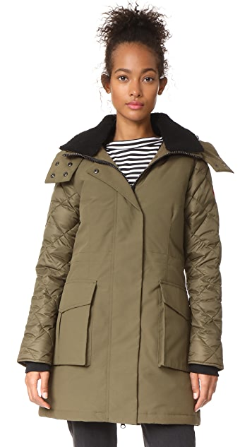 Canada Goose Elwin Parka - Military Green