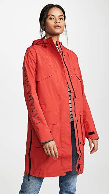 Canada Goose Seaboard Rain Jacket - Red