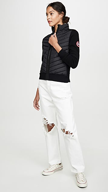 Canada Goose Hybridige 针织夹克
