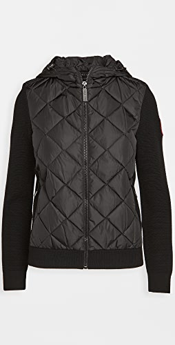 Canada Goose - Hybridge Quilted Knit Hoodie