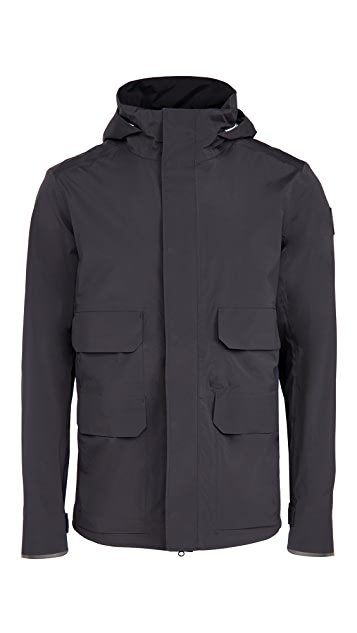 Canada Goose Meaford Rain Jacket Black Label